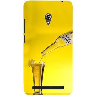 ifasho Beer Back Case Cover for Asus Zenfone 5