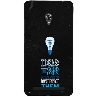 ifasho Quotes on idea Back Case Cover for Asus Zenfone 5
