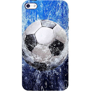 ifasho Foot ball Back Case Cover for Apple iPhone 5