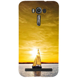 ifasho Boating at sunset Back Case Cover for Asus Zenfone 2 Laser ZE601KL