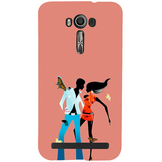 ifasho Boy and girl dancing Back Case Cover for Asus Zenfone 2 Laser ZE601KL