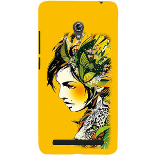 ifasho Jungle girl Back Case Cover for Asus Zenfone 5