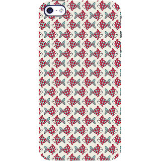 ifasho Modern Art Design Pattern Lot of fish Back Case Cover for Apple iPhone 5