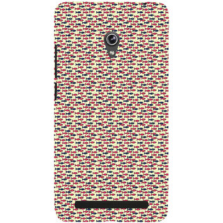 ifasho Modern Art Design Pattern Lot of fish Back Case Cover for Asus Zenfone 5