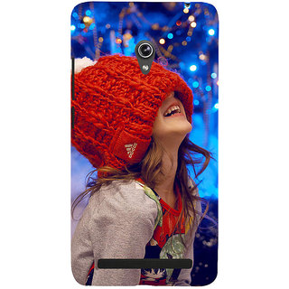 ifasho Little girl laughing Back Case Cover for Asus Zenfone 5