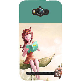 ifasho enjoy the life Back Case Cover for Asus Zenfone Max