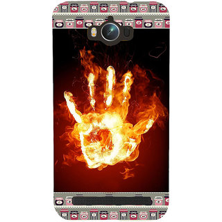 ifasho Modern Art Design  dont touch my phone with palm Back Case Cover for Asus Zenfone Max