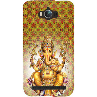 ifasho Lord Ganesha Back Case Cover for Asus Zenfone Max