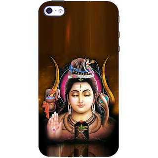 ifasho Lord siva Back Case Cover for Apple iPhone 5
