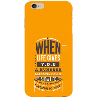 ifasho quotes on success Back Case Cover for Apple iPhone 6S Plus