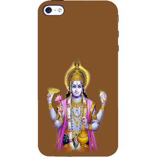 ifasho Lord Vishnu Back Case Cover for Apple iPhone 5