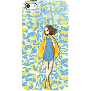 ifasho Skinny girl Back Case Cover for Apple iPhone 5