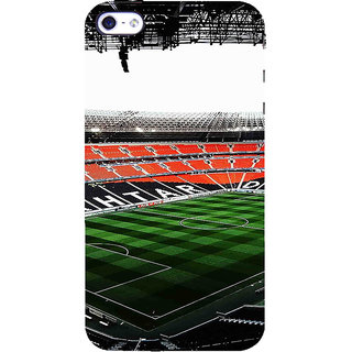 ifasho Football stadium field Back Case Cover for Apple iPhone 5
