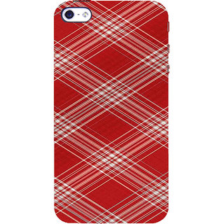 ifasho Design lines pattern Back Case Cover for   5