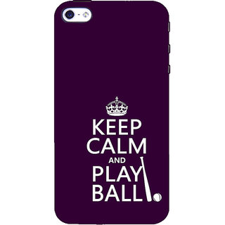 ifasho Nice Quote On Keep Calm Back Case Cover for   5