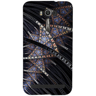 ifasho modern design in multi color pattern Back Case Cover for Asus Zenfone 2 Laser ZE601KL