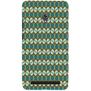 ifasho Animated Pattern design colorful flower in royal style with lines Back Case Cover for Asus Zenfone 5