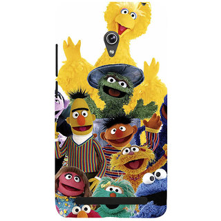 ifasho Cartoon Soft face many cartoons characters Back Case Cover for Asus Zenfone 5