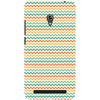 ifasho Animated Pattern of Chevron Arrows  Back Case Cover for Asus Zenfone 6