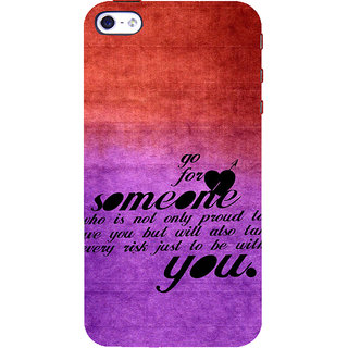 ifasho Love Quote Back Case Cover for Apple iPhone 5