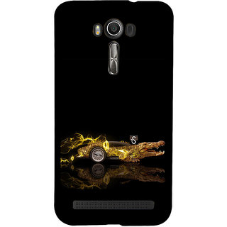 ifasho crocodile animated car Back Case Cover for Asus Zenfone 2 Laser ZE601KL