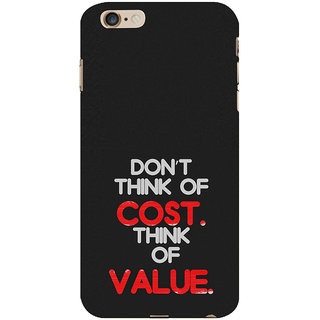 ifasho life Quotes Back Case Cover for Apple iPhone 6S Plus