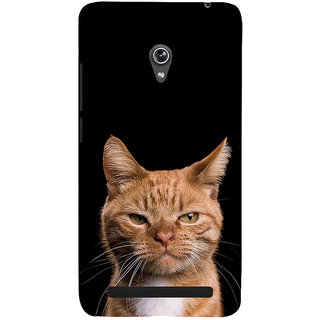 ifasho Brown cat Back Case Cover for Asus Zenfone 6