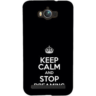 ifasho Nice Quote On Keep Calm Back Case Cover for Asus Zenfone Max