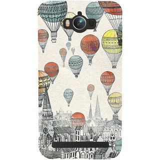 ifasho city with artistic hot air baloon Back Case Cover for Asus Zenfone Max