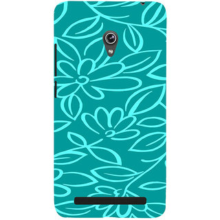 ifasho Animated Pattern colrful 3Daditional design cloth pattern Back Case Cover for Asus Zenfone 6