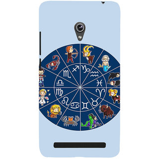 ifasho zodiac sign ALL Back Case Cover for Asus Zenfone 6