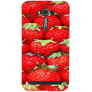 ifasho Modern  Design Pattern S3Dwberry wall paper Back Case Cover for Asus Zenfone 2 Laser ZE601KL