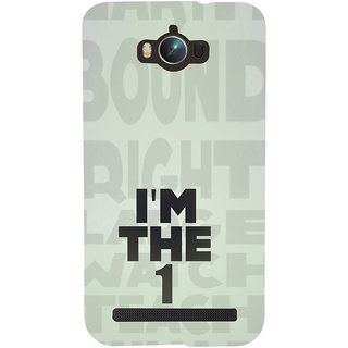 ifasho I am the one good quote on confidence Back Case Cover for Asus Zenfone Max