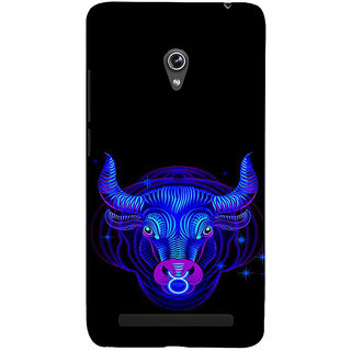 ifasho zodiac sign Taurus Back Case Cover for Asus Zenfone 5
