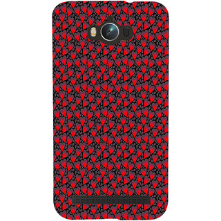 ifasho Modern Art Design Pattern with Lot Of small heart Back Case Cover for Asus Zenfone Max