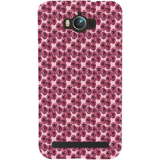ifasho Animated Pattern small purple rose flower Back Case Cover for Asus Zenfone Max