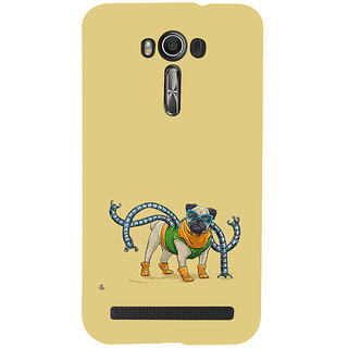 ifasho Dog with colourful  Specs Back Case Cover for Asus Zenfone 2 Laser ZE601KL