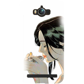 ifasho Girl kissing squirrel Back Case Cover for Asus Zenfone Max