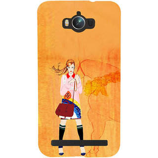 ifasho Girl with Horse Back Case Cover for Asus Zenfone Max
