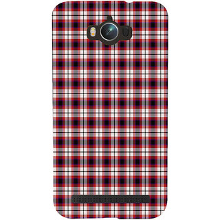 ifasho Colour Full Squre Pattern Back Case Cover for Asus Zenfone Max