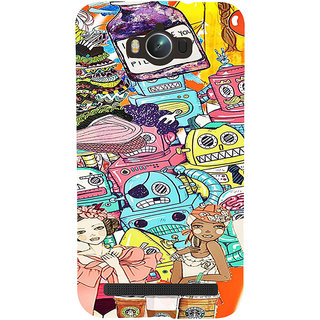 ifasho Gang Of Girls Back Case Cover for Asus Zenfone Max