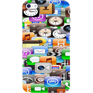 ifasho Modern  animated Design Pattern mobiles camera Back Case Cover for Apple iPhone 5