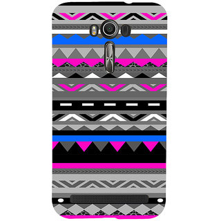 ifasho multi color 3Diangular and circle Pattern Back Case Cover for Asus Zenfone 2 Laser ZE601KL