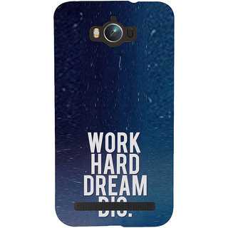 ifasho Life quote Back Case Cover for Asus Zenfone Max