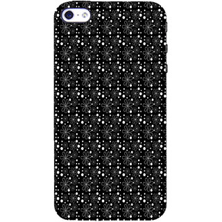 ifasho Animated Pattern Littel Flowers Back Case Cover for Apple iPhone 5