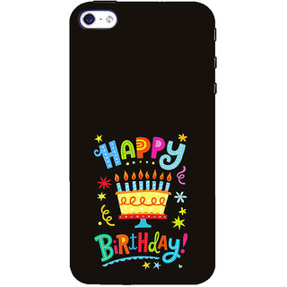 ifasho Wishing Happy birtday For Occassion Back Case Cover for Apple iPhone 5