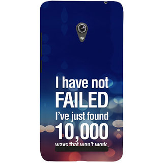 ifasho quotes on success Back Case Cover for Asus Zenfone 6