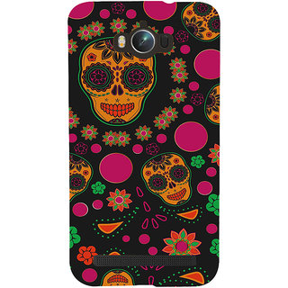 ifasho Animated Pattern Back Case Cover for Asus Zenfone Max