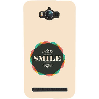 ifasho Nice Quote On beautiful Back Case Cover for Asus Zenfone Max