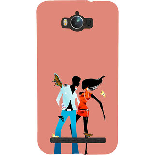 ifasho Boy and girl dancing Back Case Cover for Asus Zenfone Max